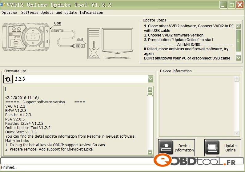 vvdi2-key-programmer-upate-information